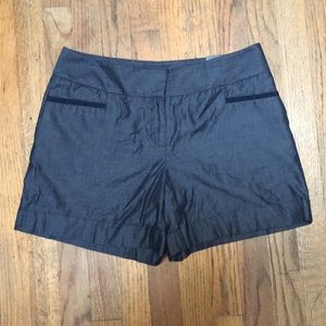 The Limited Cassidy Fit Silky Denim Shorts